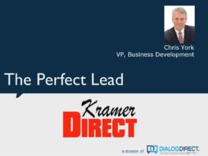 Webinar - The Perfect Lead